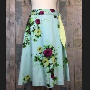 Anthropologie Skirts - Floral midi skirts anthropologie size 2